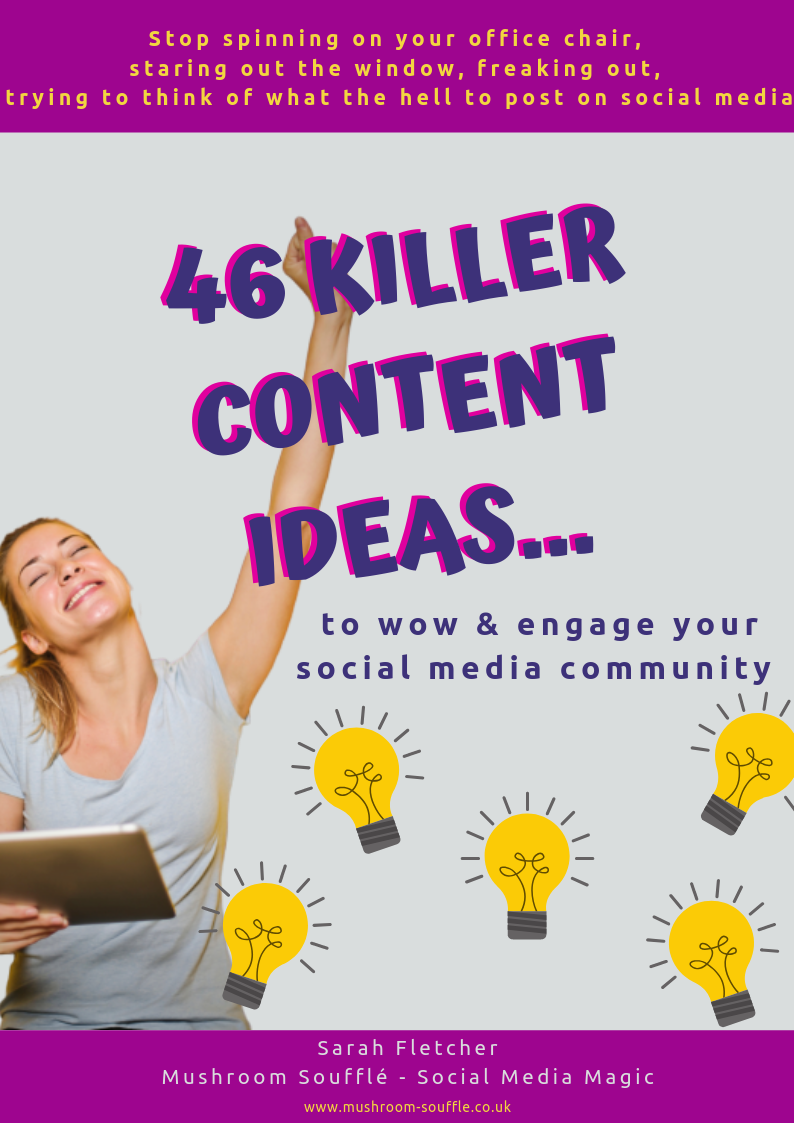 46 Killer Content Ideas