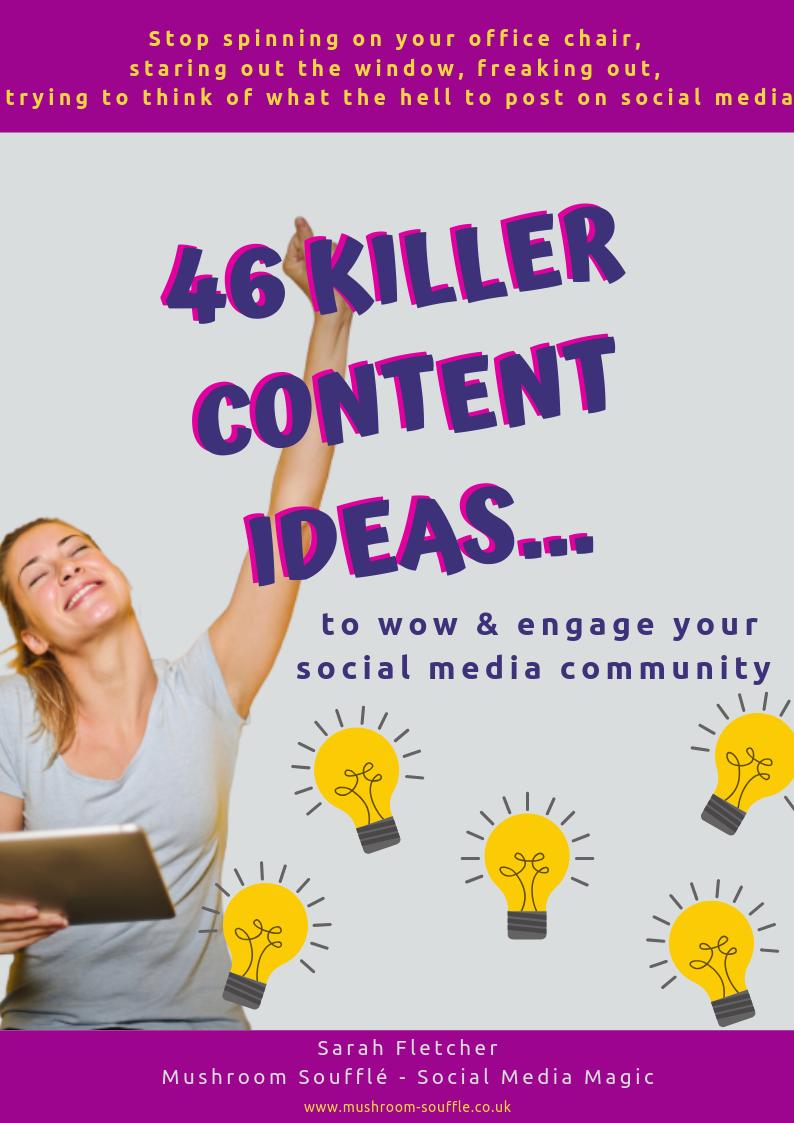 46 Killer Content Ideas